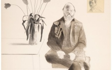 65037: David Hockney (b. 1937) Henry with Tulips, from
