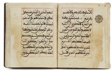 A MAGHRIBI SCRIPT QURAN SECTION, NORTH AFRICA OR