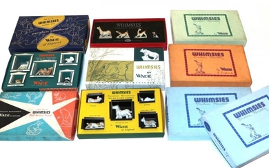 A collection of Wade Whimsies boxed sets comprising two number...