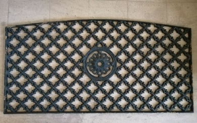 Antique window grill - Iron (cast/wrought) - 19th century