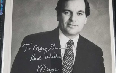 Autographed photo of Mayor Richard M Daley of Chicago