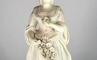 Bisque Porcelain Figure, Early 20thc.