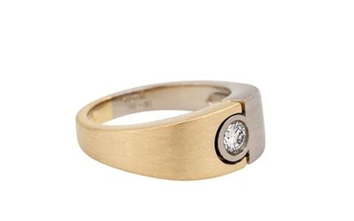 CHRISTIAN BAUER Ring mit Brillant ca. 0,27 ct