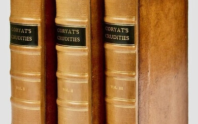 Coryat's crudities; reprinted from the edition of 1611. To which are now added, his letters from India, &c. and extracts relating to him, from various authors: being a more particular account of his travels (mostly on foot) in different parts of the...
