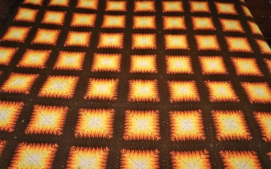 Crochet bedspread a private collection from Portugal (1) - Over there - mid 20th century