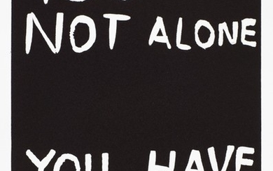 DAVID SHRIGLEY   YOU ARE NOT ALONE; AND LANGUAGE