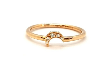 Fred - 18 kts. Pink gold - Ring Diamond