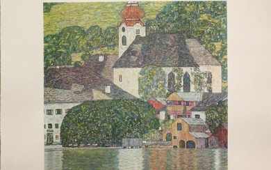 Gustav Klimt (After) - Kirche am Woldgangsee