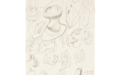 Henry Moore (1898-1986), Ideas for Wood Sculpture