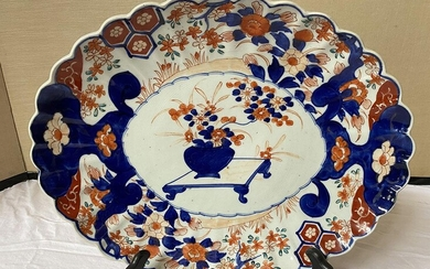 Imari Style Oval Plater, RM2A