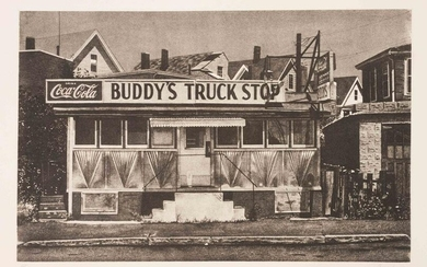 John Baeder (American, b. 1938) Buddy's Truck Stop and