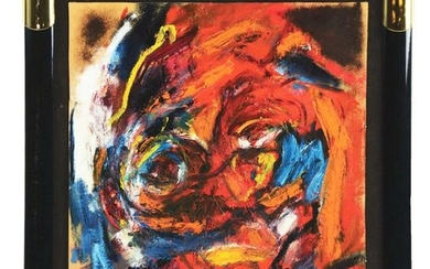 KAREL APPEL (DUTCH, 1921 - 2006) THE FACE IN THE