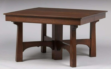 """Luce Furniture Co Square 48"""" Five-Legged Dining Table"""