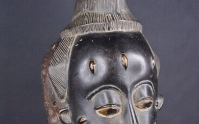 Mask - Wood - mblo - Baoulé - Ivory Coast