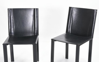 Mateo Grassi Set of Six 'Coral' Dining Chairs.