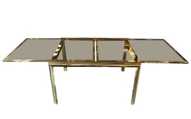 Mid-Century Modern Style Extension Dining Table 21st