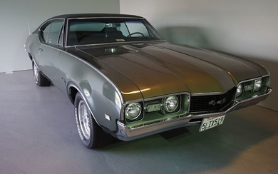 Oldsmobile - Holiday Coupe 442- 1968