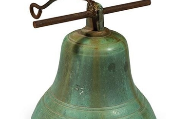 Patinated Bronze Bell