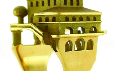Philippe Tournaire Yellow Gold RING