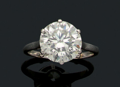 "RING ""SOLITAIRE"""
