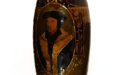 ROYAL DOULTON REMBRANDT WARE VASE, DUKE OF NORFOLK