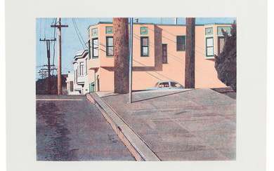 Robert Bechtle: Mississippi Street Intersection