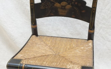 STENCILED HITCHCOCK SIDE CHAIR