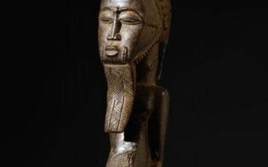 Sculpture - Wood - Baoulé - Ivory Coast