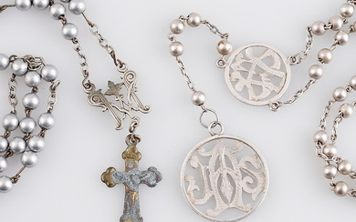 Two rosaries, late 19th Century.