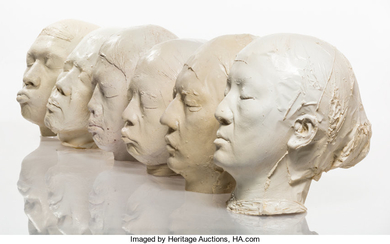Zhang Dali (b. 1963), New People (6 casts)