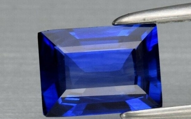 0.79 ct. Natural Peacock Blue Sapphire - SRI LANKA