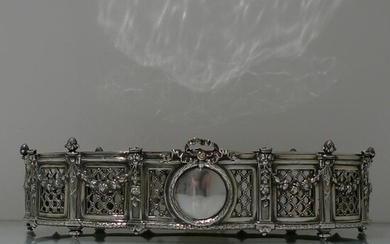 19th Century Antique 800 Standard Large Silver French