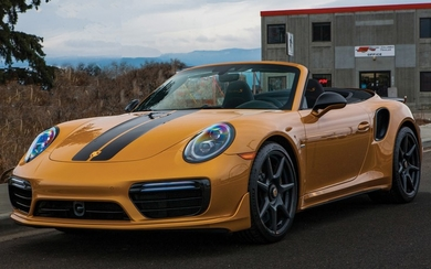 2019 Porsche 911 Turbo S Cabriolet Exclusive Series