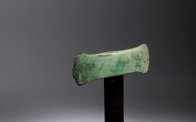 A Minoan Bronze Double Axe Width 7 inches.