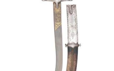 A Turkish Silver-Mounted Kilij, Probably Reign Of Abdülaziz (1277-93 A.H. Corresponding To 1861-76 A.D.)