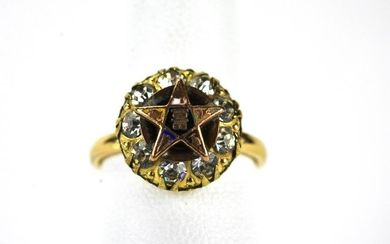 Antique Order of the Eastern Star Masonic Ring