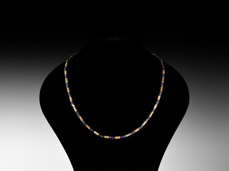 Bactrian Gold and Lapis Lazuli Necklace