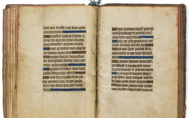 Book of Hours, Use of Rome, manuscript in Latin, on vellum, 96 leaves, [?France], [c. 1450].