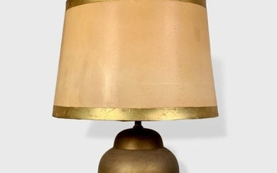 Brass Urn-form Table Lamp