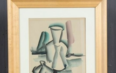 Cubist Style Watercolor