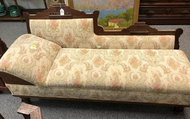 EASTLAKE VICTORIAN FOLD OUT SOFA BED FAINTING COUC