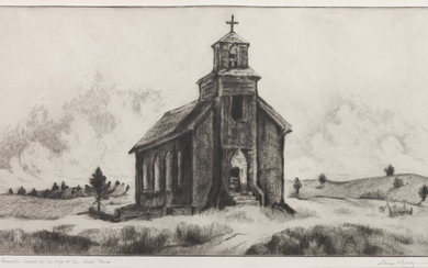Forsakew Church on the Edge of the Great Plains, edition 7/25