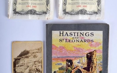 HASTINGS AND ST LEONARDS BOOKLET. (3)
