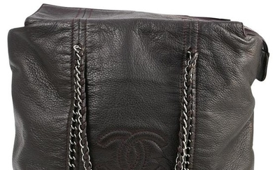 Limited Edition Chanel Leather Tote Bag