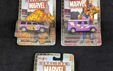 Marvel Ultimate Die Cast Cars By Maisto