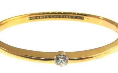 TIMELESS Hearts on Fire Co. 18k Yellow Gold & Diamond