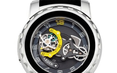 ULYSSE NARDIN, PLATINUM FREAK DIAVOLO 75TH ANNIVERSARY, LIMITED EDITION REF. 2089-115, NO. 33/75