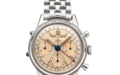 WYLER, TRIPLE DATE CHRONOGRAPH