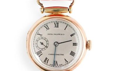 18k Gold Patek Philippe Converted Pocket Watch