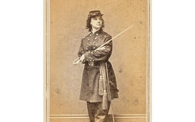 Miss Major Pauline Cushman, Union Spy and Scout, CDV